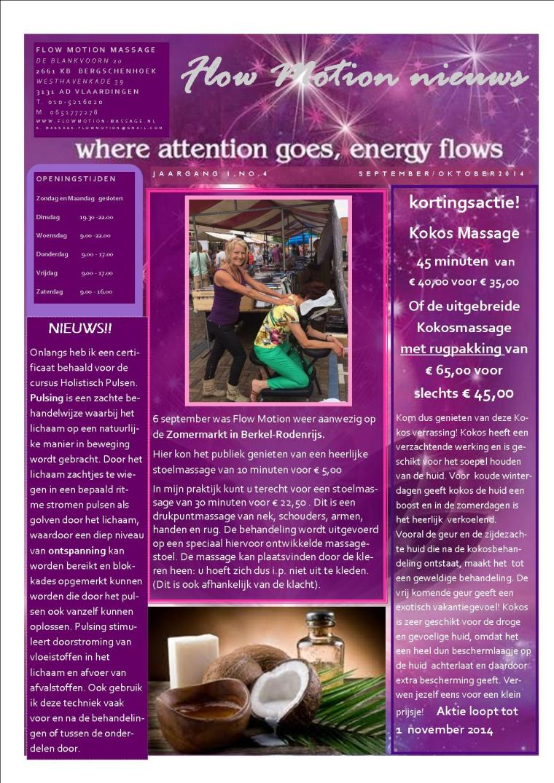 FlowMotion Nieuwsbrief 4